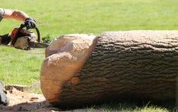Chain Saw. Royalty Free Stock Photo