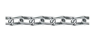 Chain seamless Royalty Free Stock Image