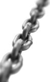 Chain section Royalty Free Stock Image