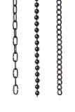 chain segments three Στοκ φωτογραφία με δικαίωμα ελεύθερης χρήσης