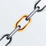 Chain Set 2 Royalty Free Stock Photography