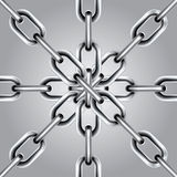 Chain Set 5 Royalty Free Stock Photos