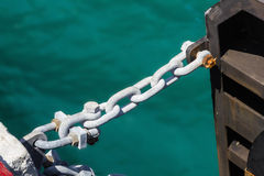 Chain for ship Royalty Free Stock Photos
