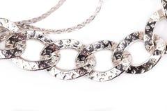 chain silver Royaltyfria Bilder