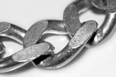 chain silver Royaltyfri Fotografi