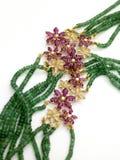 chain smaragd fotografering för bildbyråer
