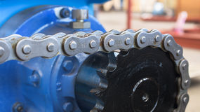 Chain and sprocket Stock Photos