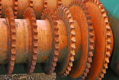 Chain Sprockets Royalty Free Stock Images