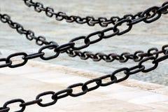 chain stål Arkivbild