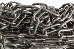 chain stål Royaltyfria Bilder