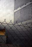chain stads- staketsammanlänkning arkivfoton