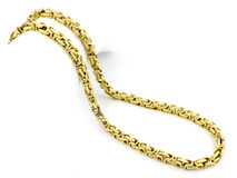 Chain - Stainless steel Royalty Free Stock Photos