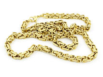Chain - Stainless steel Stock Photography