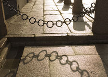 chain staket Royaltyfri Bild