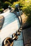 chain staket Royaltyfri Fotografi