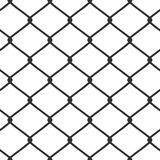 chain staketsammanlänkningsvektor Arkivbild