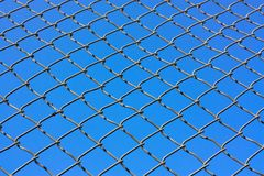 chain staketsammanlänkning Arkivfoto