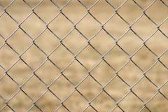 chain staketsammanlänkning Arkivbild