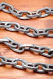 Chain of steel Stock Photos