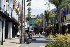 Chain Of Stores at Universal Studios Stock Photography