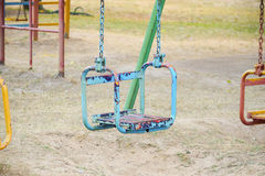 Chain swing Royalty Free Stock Photos