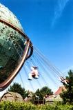 Chain Swing. Ride in amusement park Stock Image