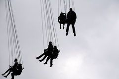 Chain Swing Ride Royalty Free Stock Photo
