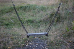 Chain swings Royalty Free Stock Image