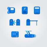 chain symbolslåsrengöringsduk Royaltyfri Bild