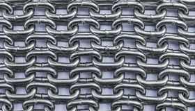 Chain textures. Stock Photography