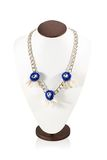 Chain with three pendants on a mannequin Stock Photo
