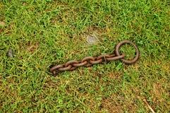 Chain to No Where Stock Photo