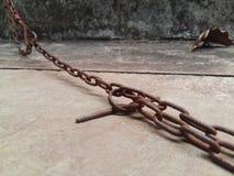 Chain tolkare för stål Arkivbilder