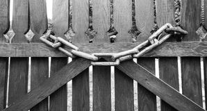 chain trä Royaltyfria Bilder