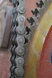 Chain transmission Stock Photos