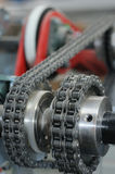 Chain transmission Stock Image
