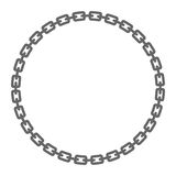 Chain. A vector illustration of a metal chain Stock Photography