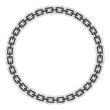 Chain. A vector illustration of a metal chain Stock Photo