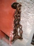 chain vägg Arkivfoto