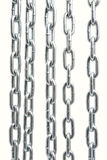 Chain on white Royalty Free Stock Photography