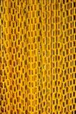 chain yellow Royaltyfria Bilder
