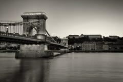 Chainbridge Βουδαπέστη Στοκ Φωτογραφίες