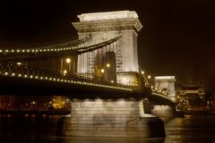 Chainbridge Royalty Free Stock Photography