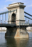 Chainbridge in Budapest Royalty Free Stock Photo