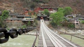 chainbridge stary Zdjęcie Royalty Free