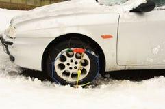 Chaine de pneu Image libre de droits