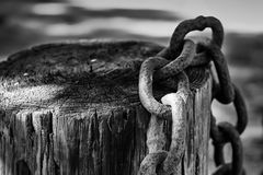 Chained... Royalty Free Stock Photo