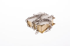 Chained book Stock Photo