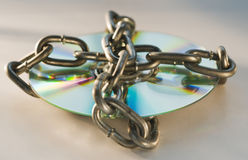 Chained Disc Royalty Free Stock Images