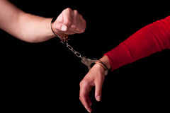 Chained Love Stock Image